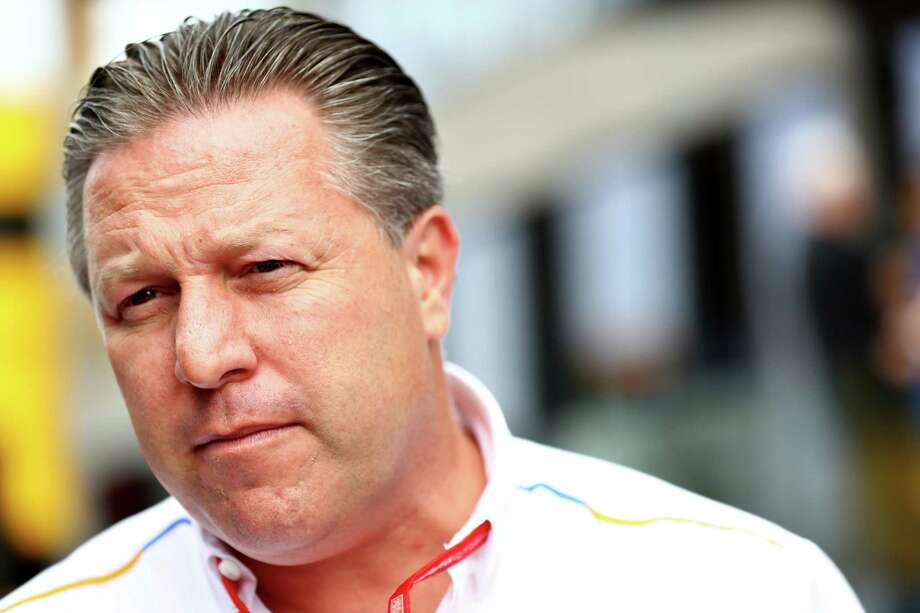 HOCKENHEIM, GERMANY - JULY 27: McLaren Chief Executive Officer Zak Brown looks on in the Paddock before final practice for the F1 Grand Prix of Germany at Hockenheimring on July 27, 2019 in Hockenheim, Germany. (Photo by Mark Thompson/Getty Images) Photo: Mark Thompson / 2019 Getty Images