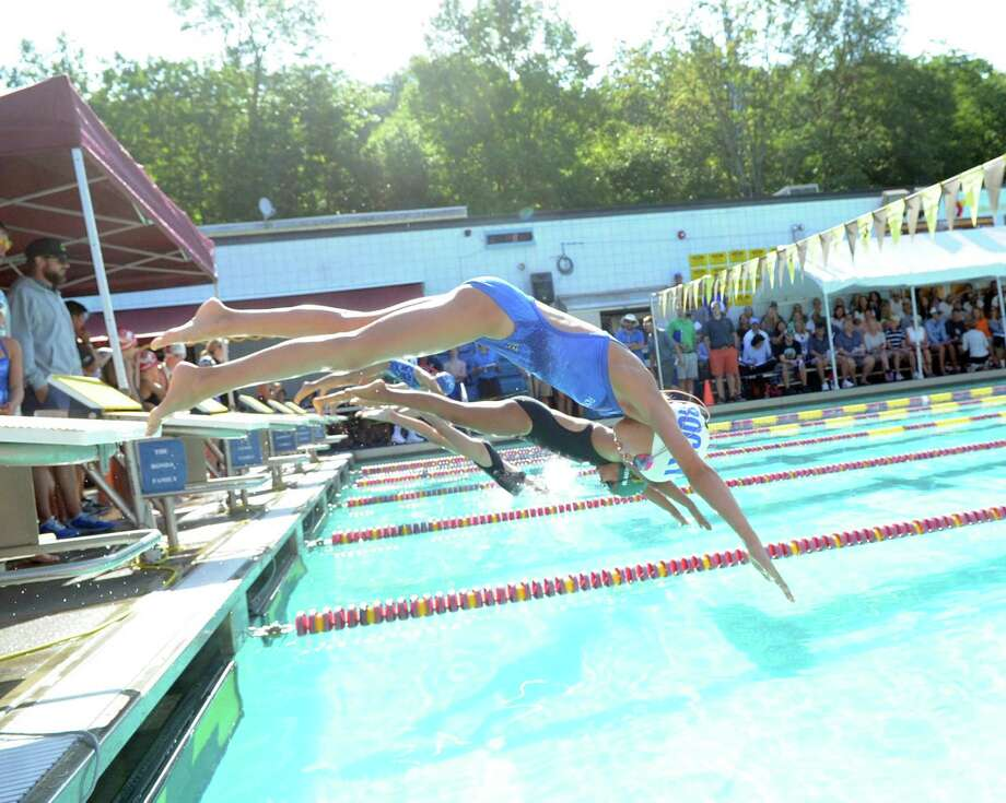 Fairfield County Swimming League Championships at the YMCA in Wilton, Conn., Saturday, Aug. 12, 2017. Photo: Bob Luckey Jr. / Hearst Connecticut Media / Greenwich Time