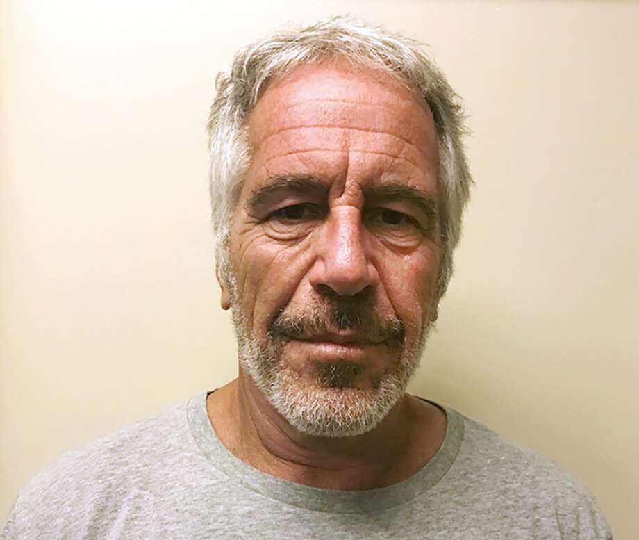 FILE - This March 28, 2017, file photo, provided by the New York State Sex Offender Registry shows Jeffrey Epstein.  Epstein has died by suicide while awaiting trial on sex-trafficking charges, says person briefed on the matter, Saturday, Aug. 10, 2019. (New York State Sex Offender Registry via AP, File) Photo: Associated Press