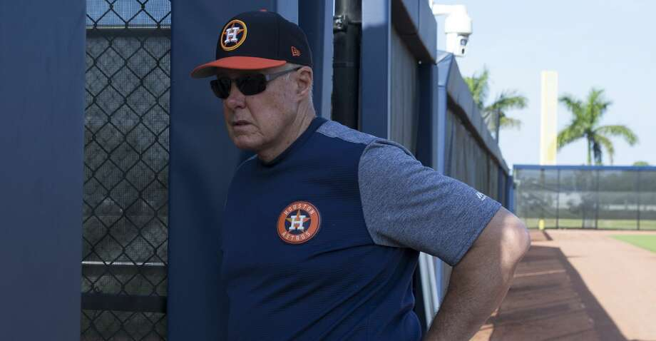 PHOTOS: Astros game-by-game Houston Astros pitching coach Brent Strom watches Class A Quad Cities pitching coach Erick Abreu meeting with young pitchers in Spanish at Fitteam Ballpark of The Palm Beaches to start Day 3 of spring training at Fitteam Ballpark of The Palm Beaches on Saturday, Feb. 16, 2019, in West Palm Beach. Browse through the photos to see how the Astros have fared in each game this season. Photo: Yi-Chin Lee/Houston Chronicle