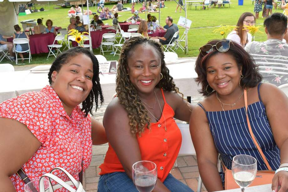The 13th Annual Shoreline Wine Festival took place August 10 - 11, 2019 at Bishop's Winery in Guilford. Guests sipped on wines from Connecticut Wineries and Vineyards and enjoyed local food trucks and live music. Were you SEEN? Photo: Vic Eng / Hearst Connecticut Media Group