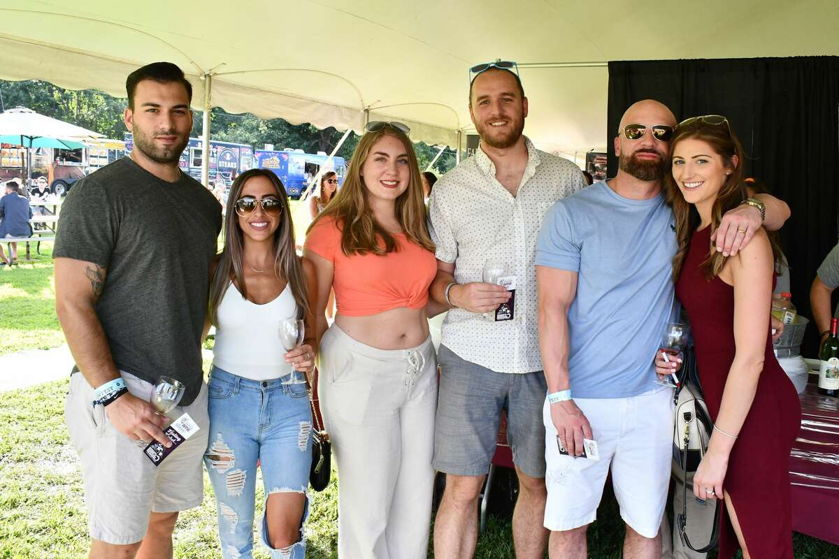 The 13th Annual Shoreline Wine Festival took place August 10 - 11, 2019 at Bishop's Winery in Guilford. Guests sipped on wines from Connecticut Wineries and Vineyards and enjoyed local food trucks and live music. Were you SEEN?