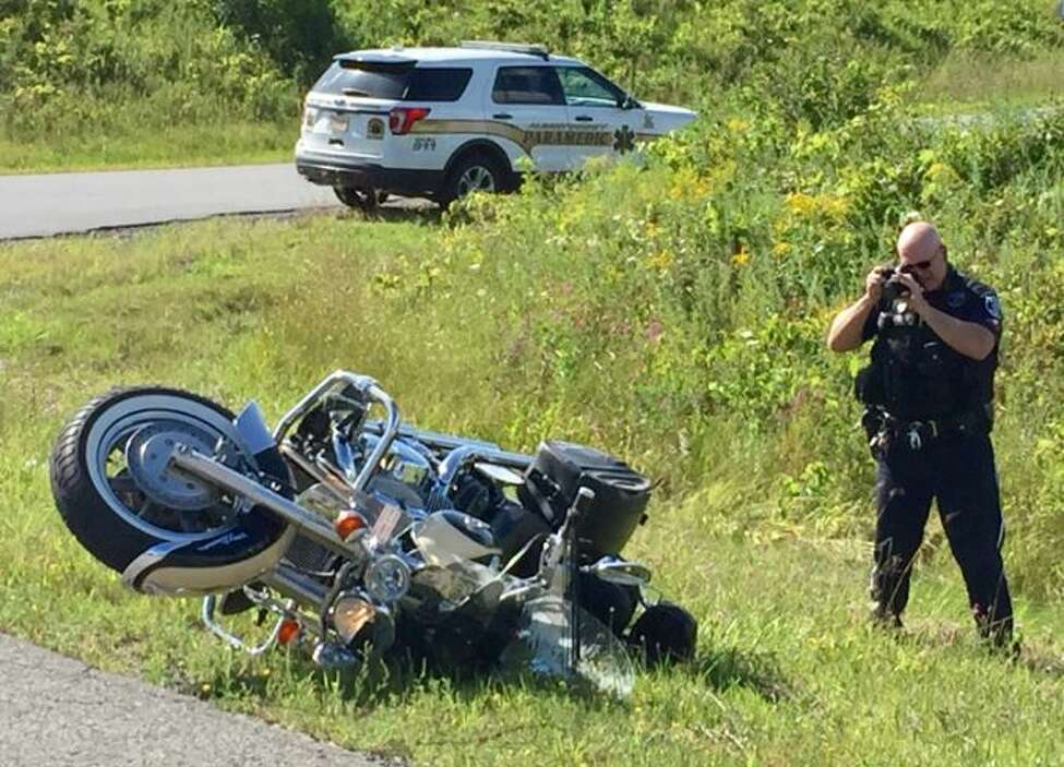 Bethlehem police are investigating a Saturday afternoon motorcycle accident at the corner of Route 32 and Meads Lane. One person was taken to the hospital.