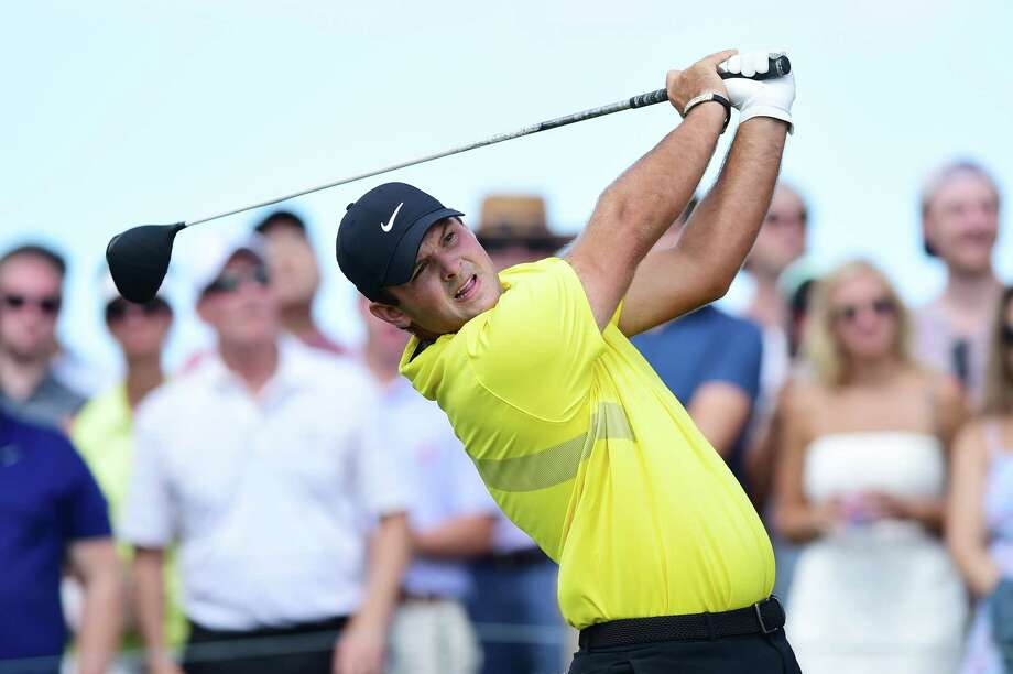 JERSEY CITY, NEW JERSEY - AUGUST 10: Patrick Reed of the United States plays his shot from the eighth tee  during the third round of The Northern Trust at Liberty National Golf Club on August 10, 2019 in Jersey City, New Jersey. (Photo by Jared C. Tilton/Getty Images) Photo: Jared C. Tilton / 2019 Getty Images