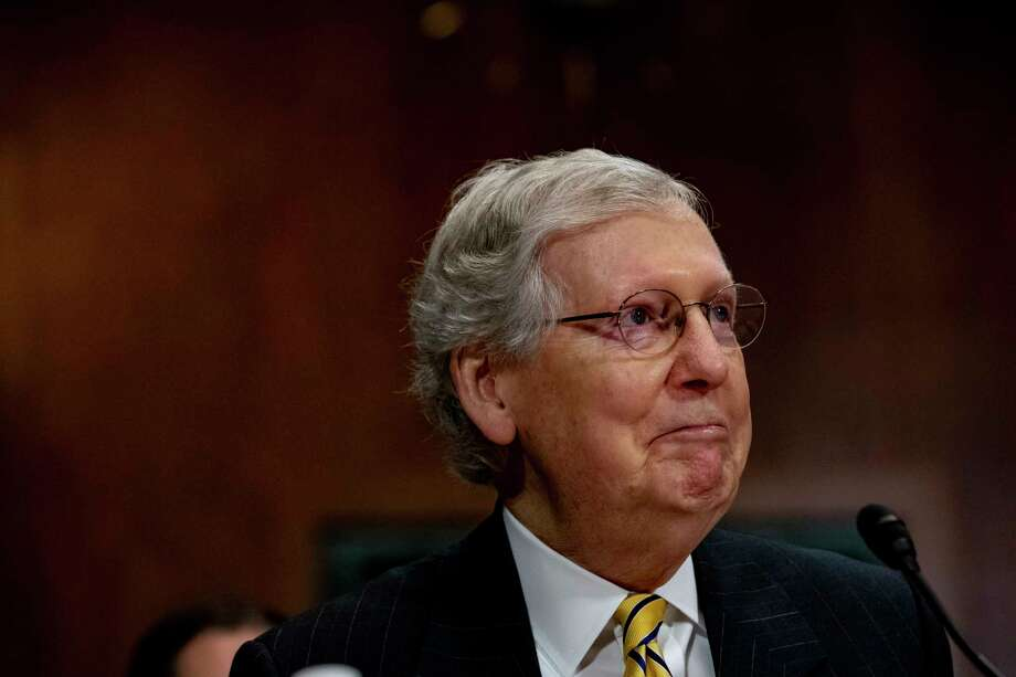Senate Majority Leader Mitch McConnell. Photo: ANNA MONEYMAKER / NYTNS