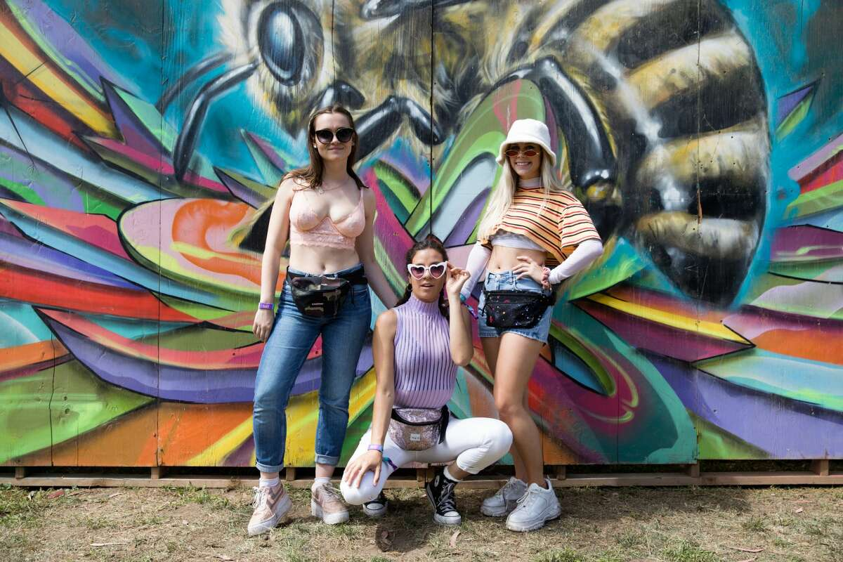 Some of the fashion at the 2019 Outside Lands in Golden Gate Park in San Francisco, Calif. on August 10, 2019.