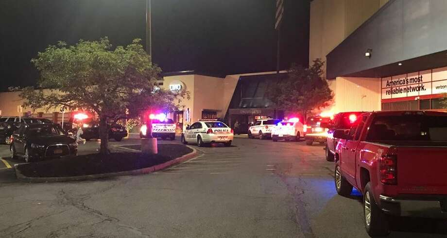 Police from several agencies responded to a disturbance at Crossgates Mall on Saturday night. Photo: Rick Karlin/Times Union