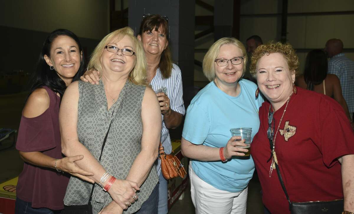 Fans of country music at Ford Park for an Aaron Watson concert Saturday night. Photo taken on 8/10/19. Ryan Welch/The Enterprise