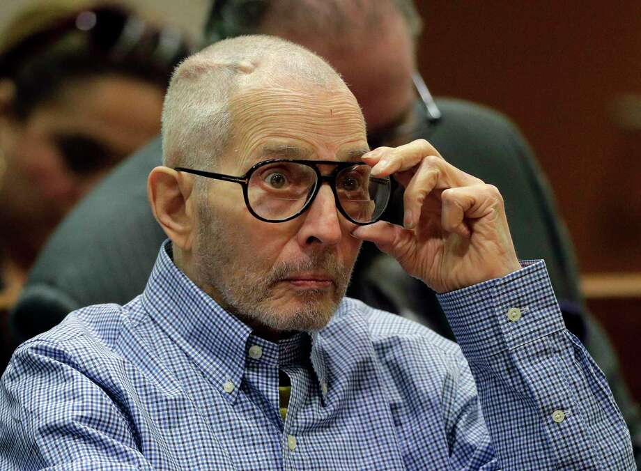 Real Estate Heir Robert Durst appears in the Airport Branch of the Los Angeles County Superior Court during a preliminary hearing on December 21, 2016 in Los Angeles, California. Durst is charged with capital murder in a friend's killing Susan Berman in 2000. Photo: Jae C. Hong / Getty Images / 2016 Getty Images