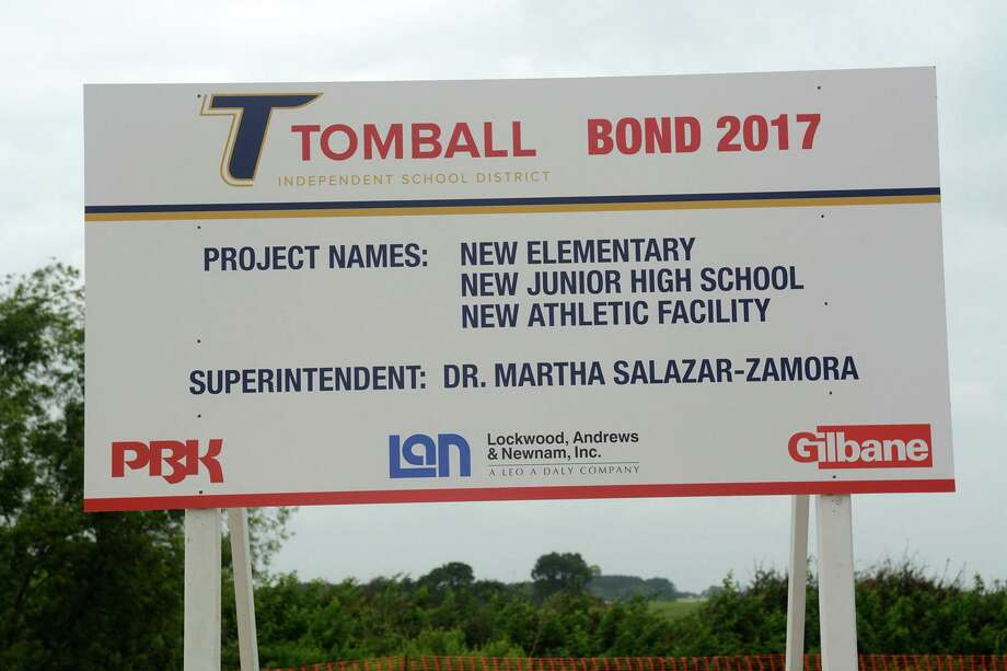 Tomball ISD held the groundbreaking ceremony for it's new elementary school, new junior high school and new athletic facility at the location near the intersection of the Grand Parkway and Cypress-Rosehill Road on May 29, 2019. Photo: Jerry Baker, Houston Chronicle / Contributor / Houston Chronicle