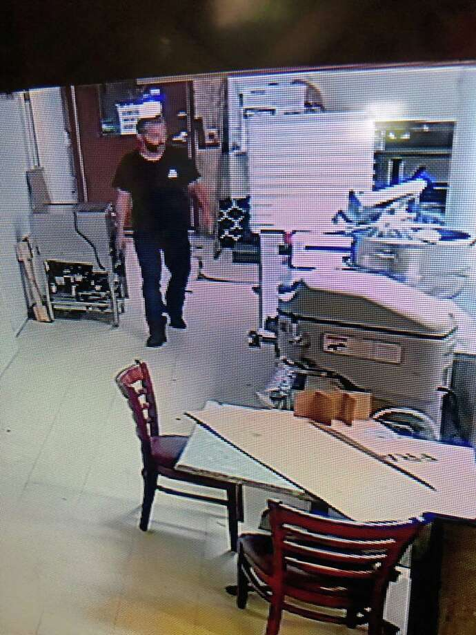 Police are asking for the public's help to identify a man they suspect was involved in a theft from Eli's. Saturday, Aug. 10, 2019 Photo from Branford Police Department's Facebook Photo: / Contributed Photo /Branford Police Department's Facebook