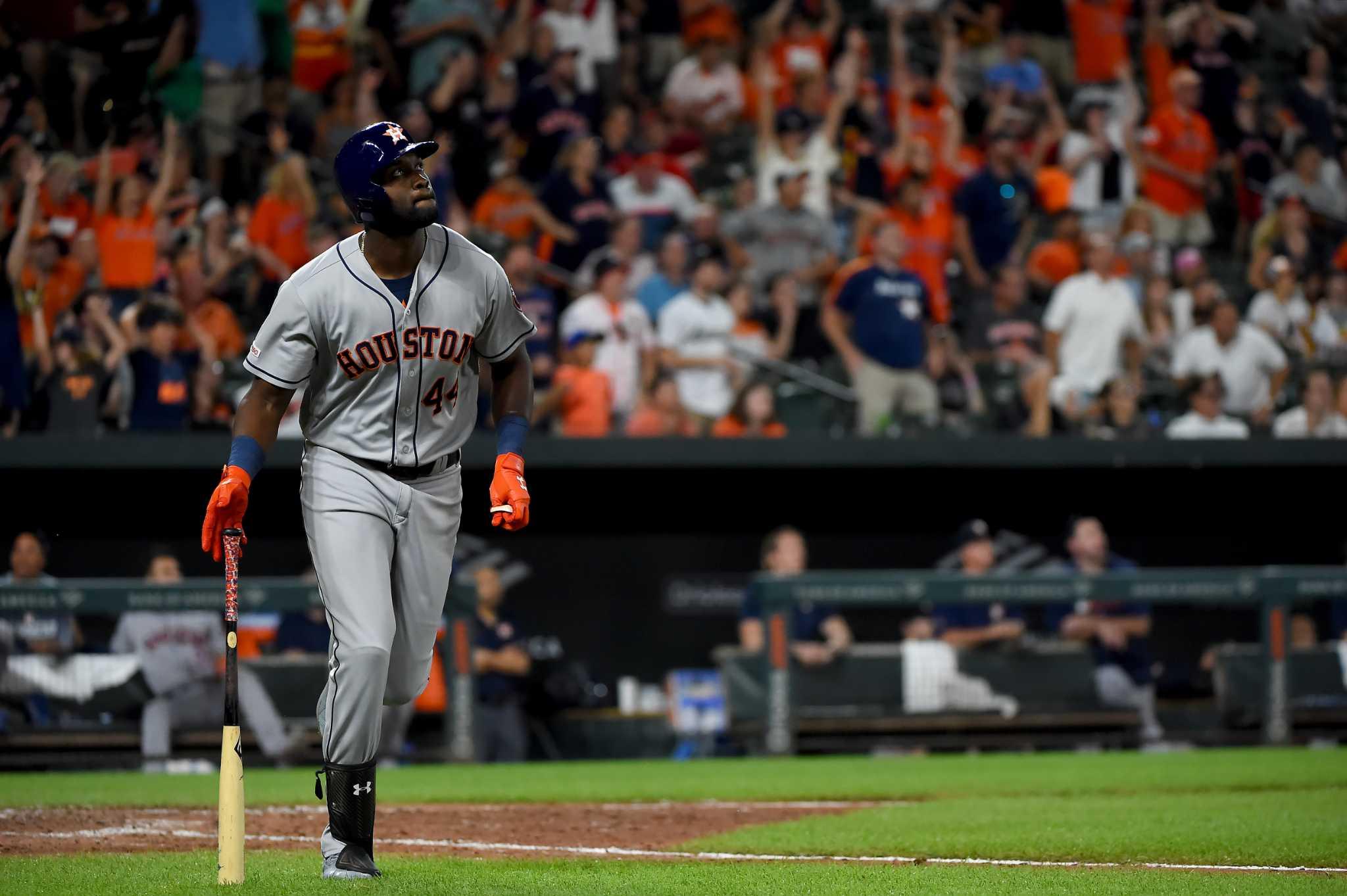 Creech: Alvarez's big night brings up memories of other great Houston rookies