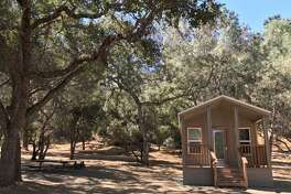New camping cabins were added at Del Valle Regional Park