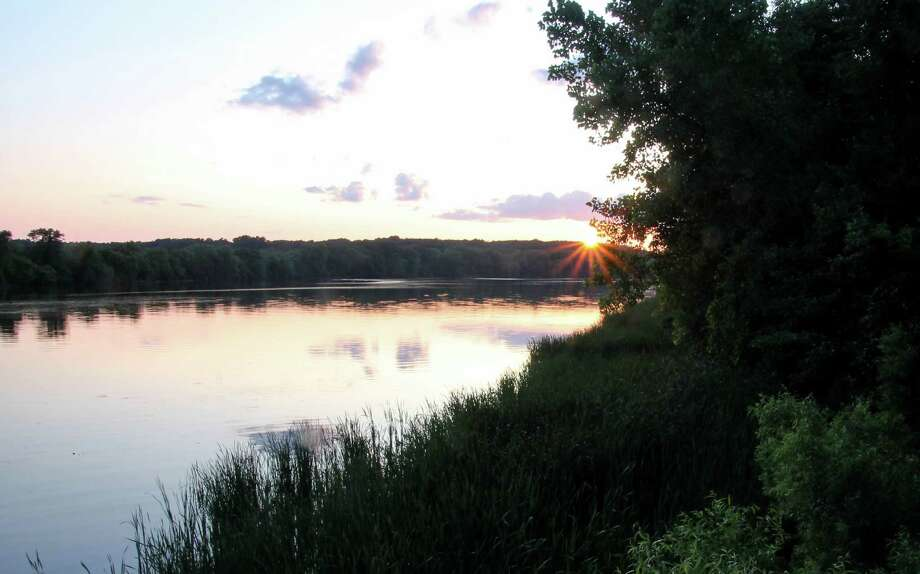 A peaceful summer evening's sunset, captured from one of the public fishing spots in the Vischer Ferry Preserve. (Denise Walling) Photo: Denise K. Walling / 2016        walling_d@msn.com