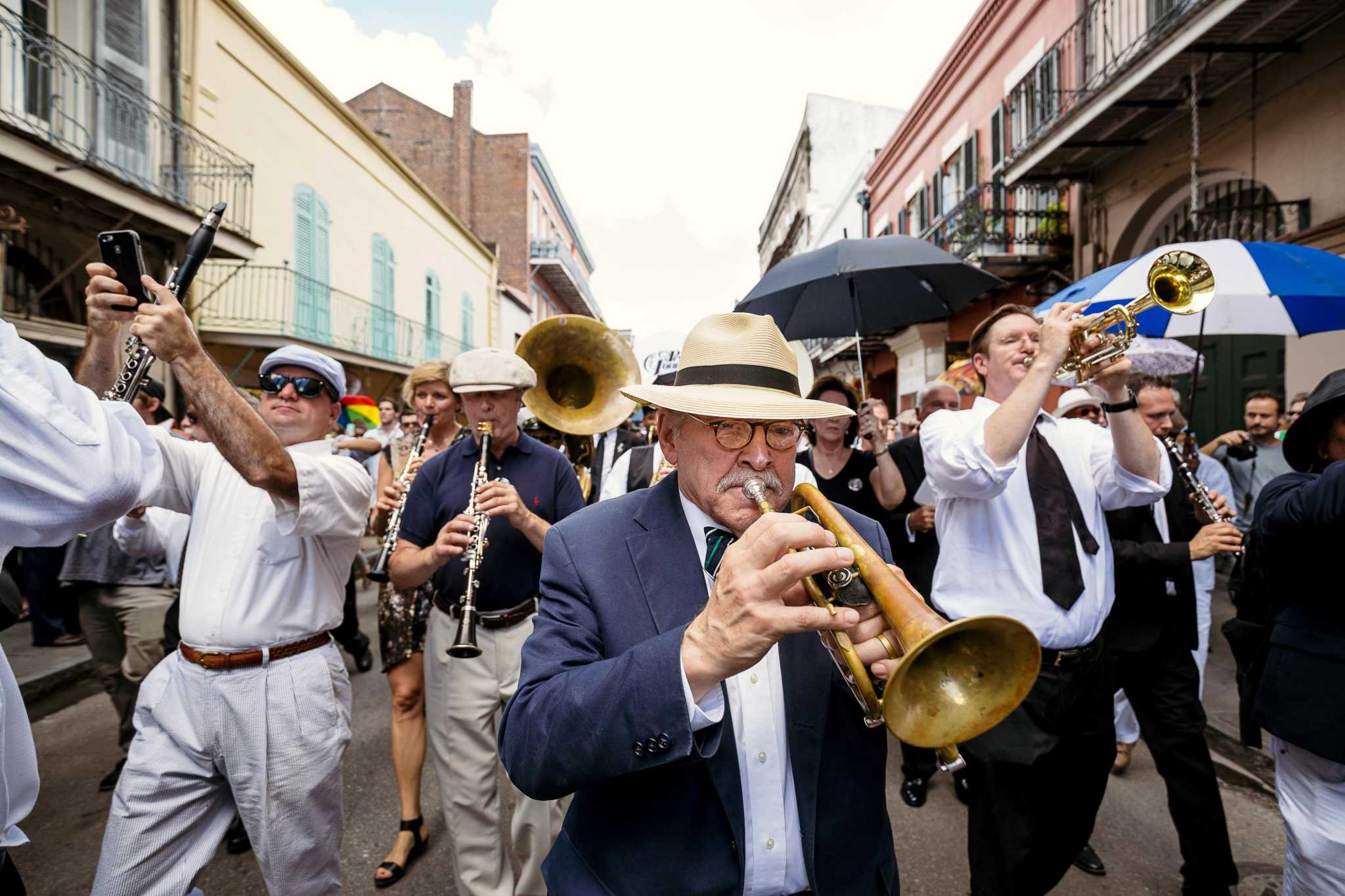 Jim Cullum's memorial will have live music, second line