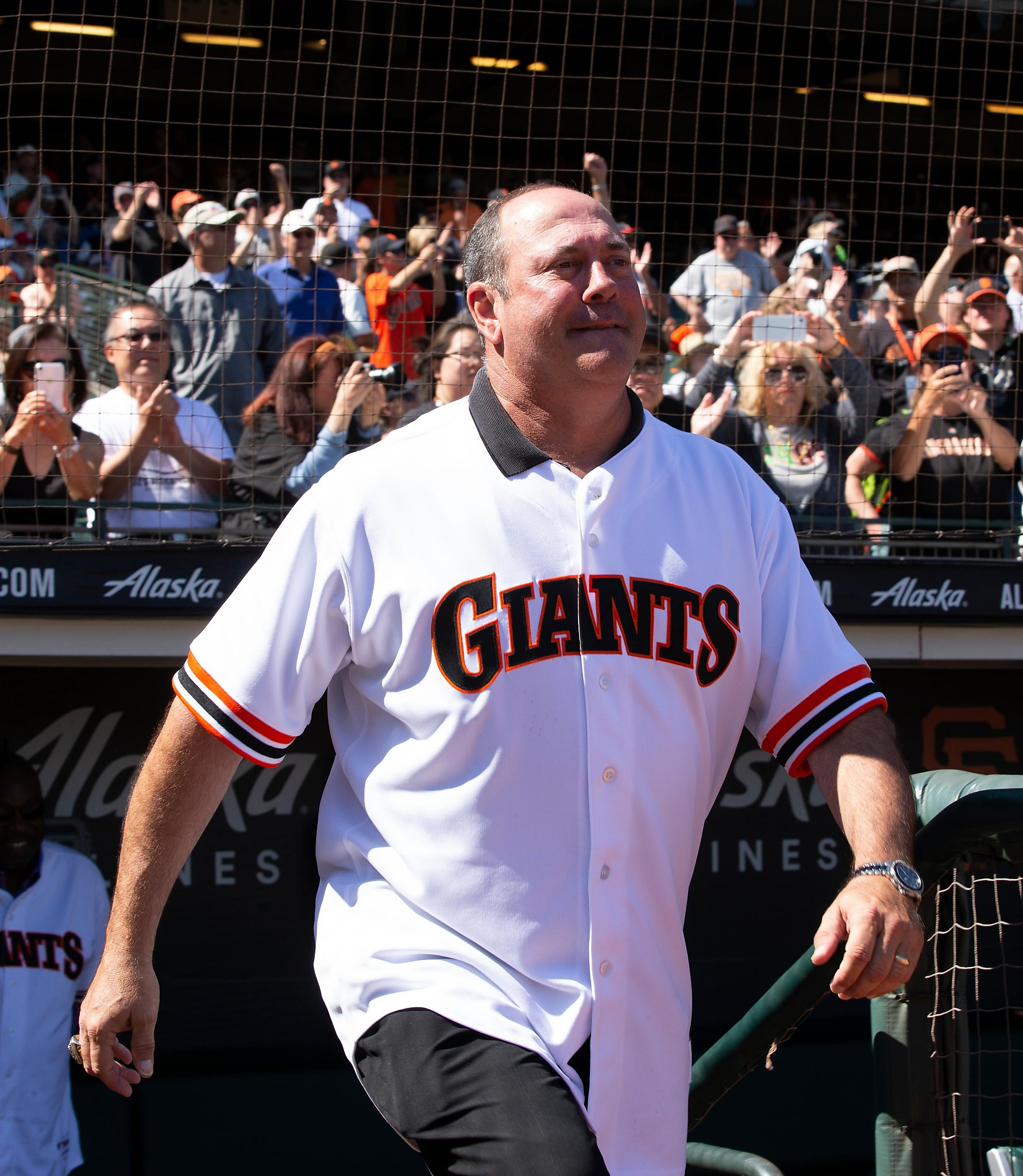size 40 86d79 3fe32 What a thrill: Giants surprise Will Clark and fans by saying ...