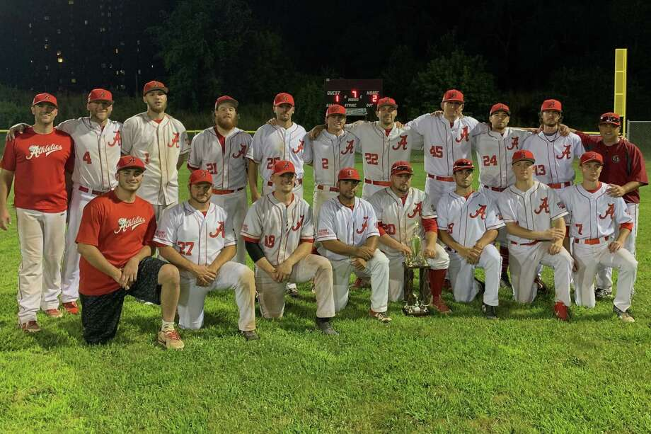 The 2019 Albany Athletics closed out their season in a familiar place, finishing third in the AABC Northeast World Series for the third consecutive year after winning their record fourth consecutive Albany Twilight League Championship and tenth overall. (Photo by Liss Phillips, Albany Athletics)