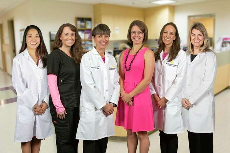 The team at MidMichigan Medical Center - Midland's Center for Women's Health, seen in this edited image, offers a comprehensive, multidisciplinary approach to patient care. (Image provided)