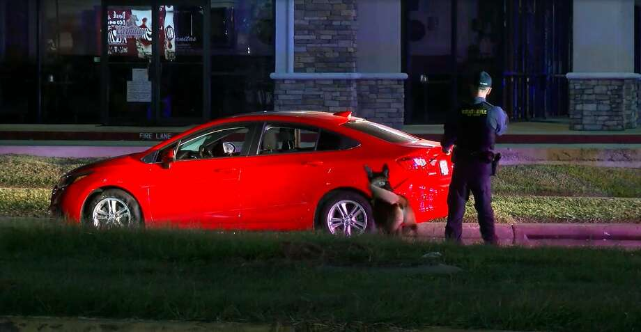 A man who led deputies on a chase through northwest Houston early Monday and then shouted at them to kill him was taken into custody after authorities tased him, officials said. Photo: OnScene.TV