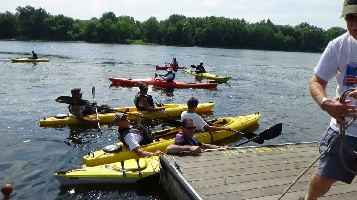 The Veteran's 10K Kayaking Race down the Connecticut River will take place in Cromwell Sept. 15.