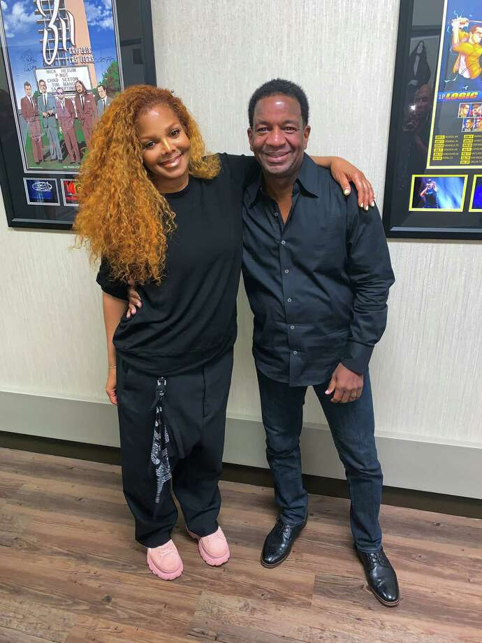A Houston man got the surprise of his life when he met Janet Jackson in Vegas Photo: KB Strawder,  Jr.