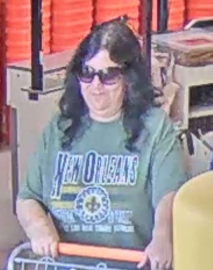 """Comal County Crime Stoppers is looking for a woman they have dubbed """"the Wedding Crasher."""" Police suspect her of showing up at wedding receptions to steal wedding gifts. Photo: Comal County Crime Stoppers"""