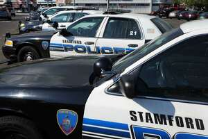 A truck driver was seriously hurt Monday by falling debris at the Stamford transfer station.