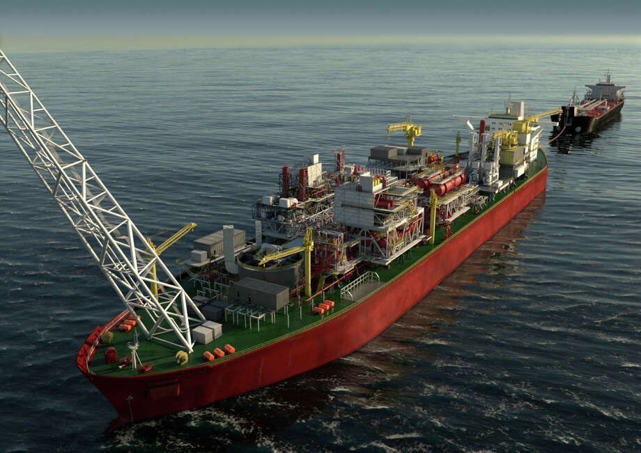 Houston oilfield service company Halliburton has landed nine contracts to drill and complete a series of wells off the coast in West Africa. Photo: Woodside Energy