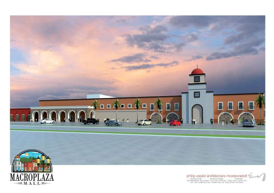 Management officials with Pasadena's Macroplaza Mall are preparing to present a master plan to city of Pasadena officials as the next step toward renovations into what they envision as a Hispanic-flavored regional shopping destination with hundreds of small businesses. Photo: Philip Ewald Architecture Inc.