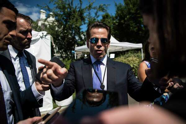 Then-White House communications director Anthony Scaramucci in July 2017.