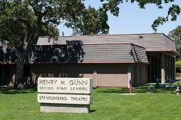 #21. Henry M. Gunn High School - Location: Palo Alto, CA - Grades offered: 9-12 - School type: public - Student-teacher ratio: 16:1 - Students enrolled: 1,896 - AP enrollment: 42% - Racial diversity: 38.0% White, 1.3% Black, 45.3% Asian, 8.6% Hispanic, 6.4% Multiracial, 0.1% Native American, 0.4% Pacific Islander This slideshow was first published on theStacker.com