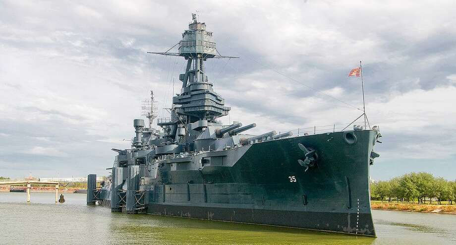 The Battleship Texas is the last remaining battleship that participated in both World War I and World War II. She was spared the fate of many vessels during the bombing of Pearl Harbor on Dec. 7, 1941 when she was patrolling off the coast of Maine. Photo: Submitted