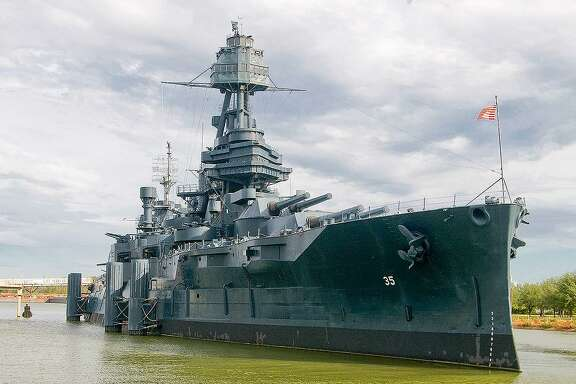 The Battleship Texas is the last remaining battleship that participated in both World War I and World War II. She was spared the fate of many vessels during the bombing of Pearl Harbor on Dec. 7, 1941 when she was patrolling off the coast of Maine.