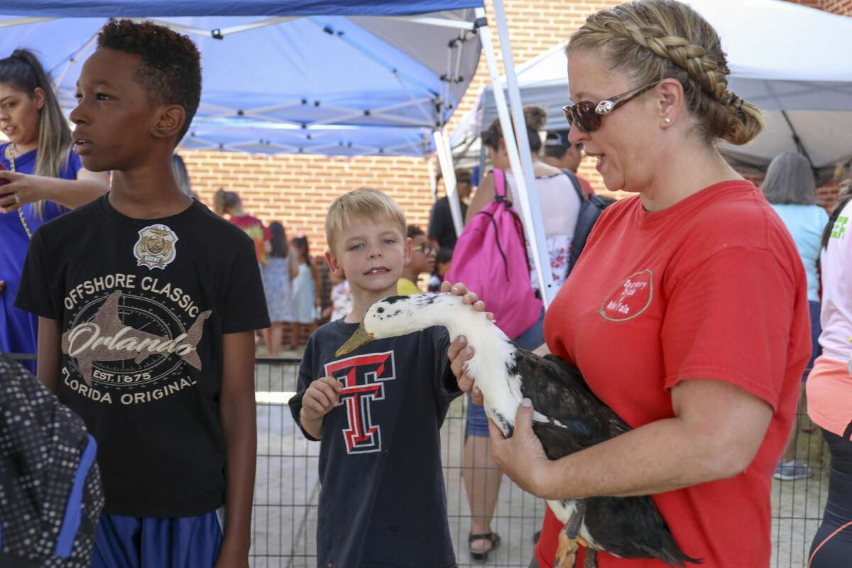 The Boys and Girls Club of the Permian Basin along with 20 other organizers held the Family Fun Day on Saturday, Aug. 10, 2019 at the Horseshoe Pavilion.