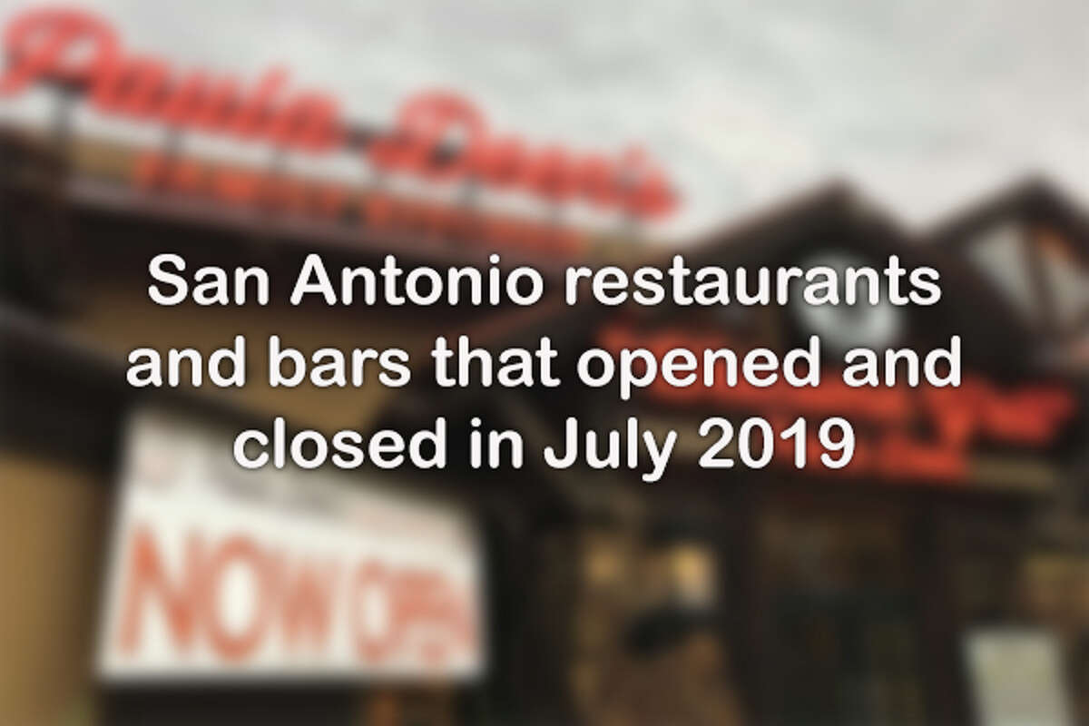 Click through for the latest openings and closures in the San Antonio food scene.