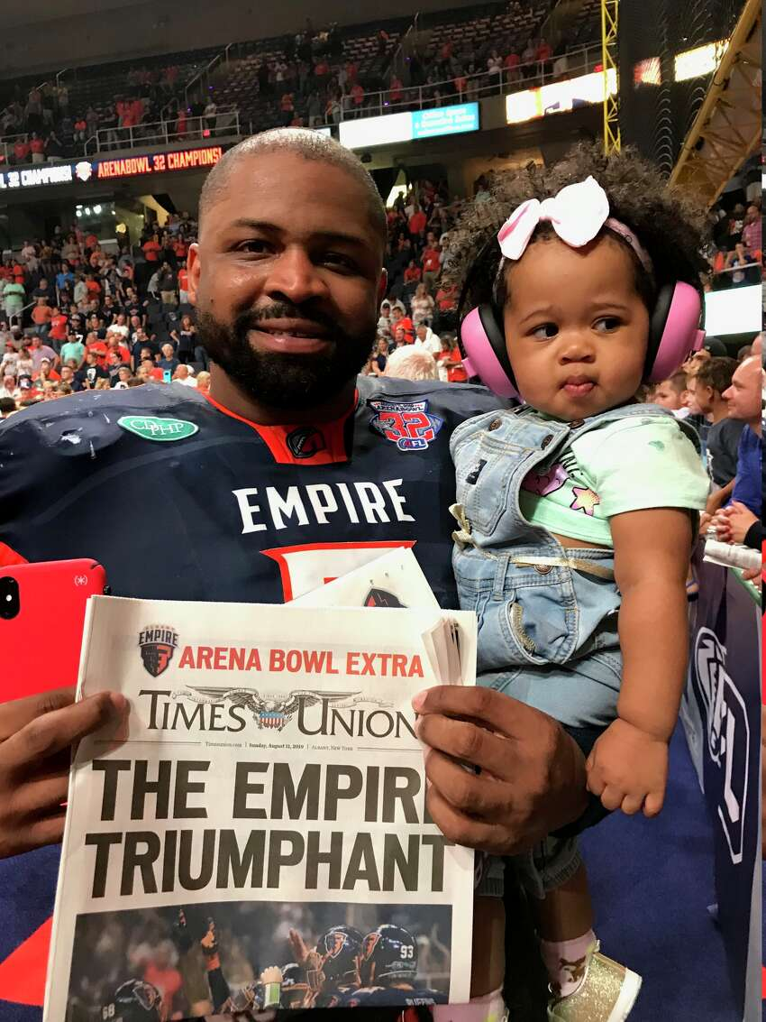 The Albany Empire validated the city's return to the Arena Football League on Sunday night, running over the Philadelphia Soul 45-27 to win ArenaBowl XXXII in front of 12,042 crazed fans and a national TV audience on ESPN2.