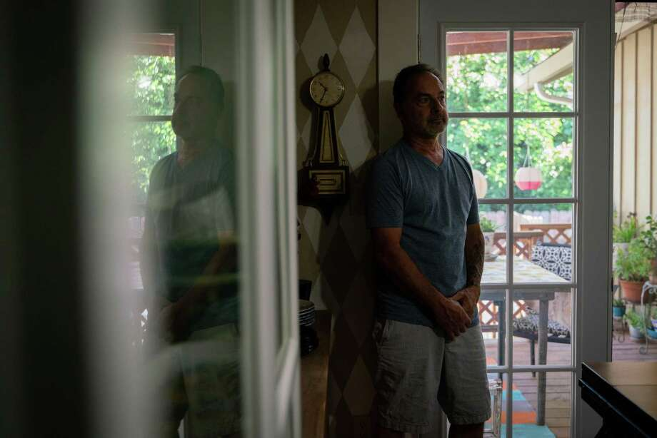 Joey Piscitelli, 64, one of the victims of child sexual abuse at a Boys & Girls Club, stands for a portrait at his home in Martinez, Calif., on Wednesday, July 31, 2019.  Photo: Sarahbeth Maney / Special To The Chronicle / Sarahbeth Maney
