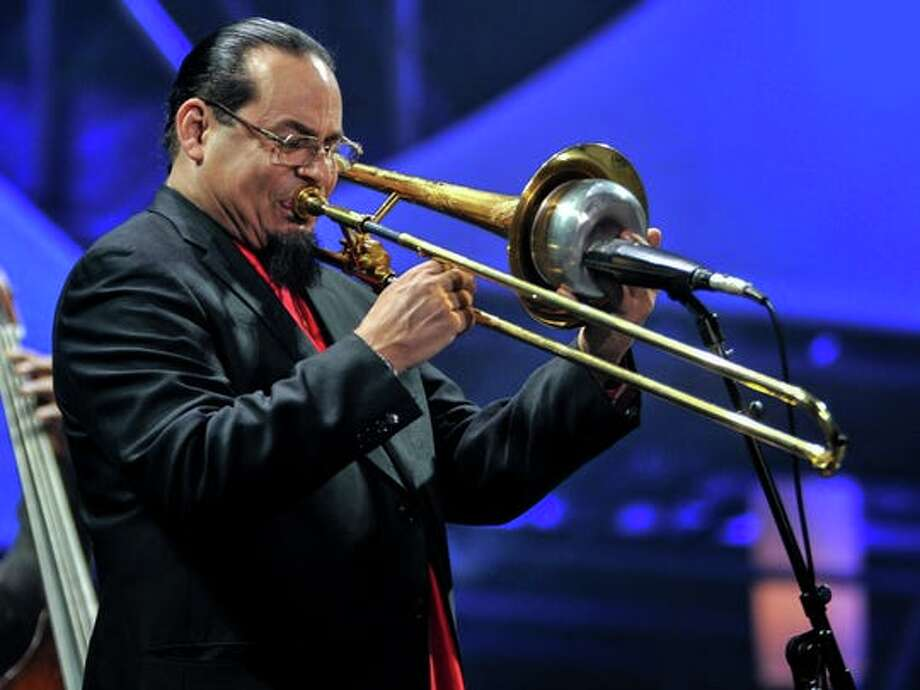Steve Turre will perform on Sept. 6 at A Place for Jazz in Schenectady. Photo: Getty Images