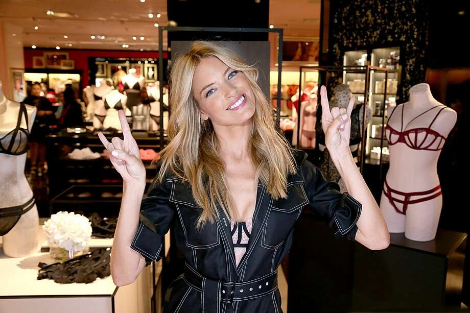 HOUSTON, TEXAS - AUGUST 08:  Victoria's Secret Angel Martha Hunt debuts the new fall collection at Victoria's Secret Houston Galleria Store.  (Photo by Gary Miller/Getty Images)