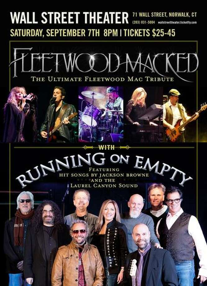 The Running on Empty Band, from Cheshire, and the New York-based Fleetwood Macked is at Norwalk's Wall Street Theater on Sept. 7. Photo: Contributed Photo