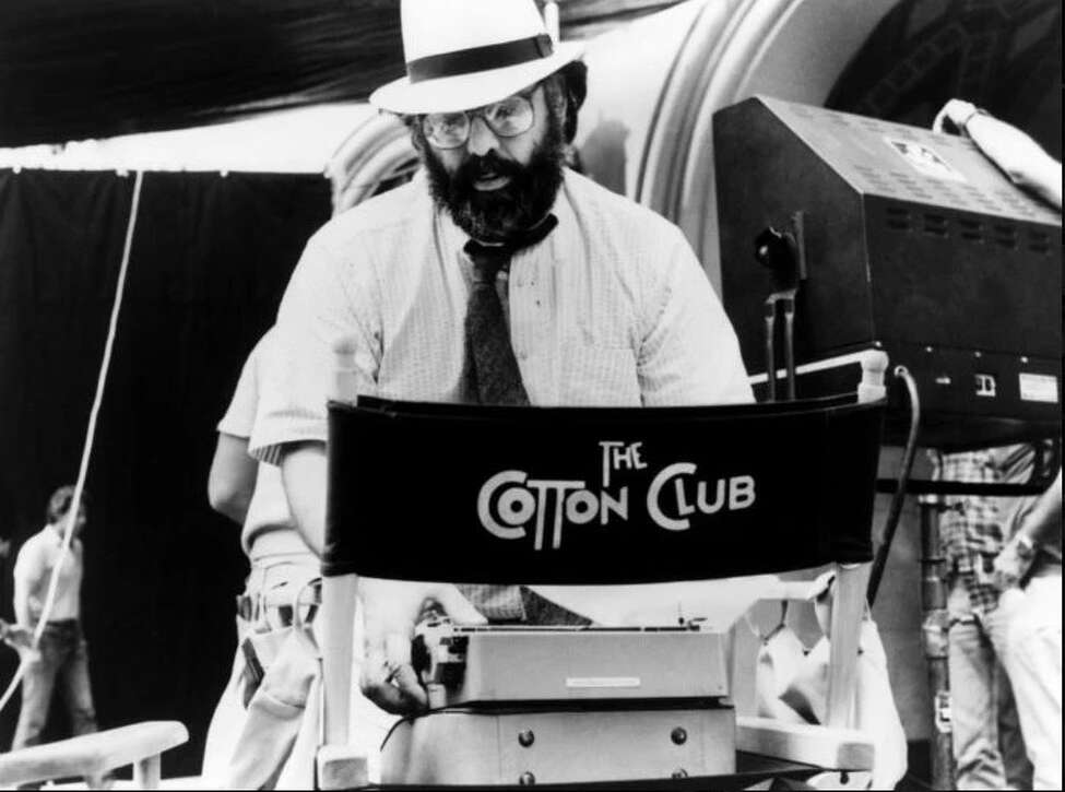 Director Francis Ford Coppola on the set of