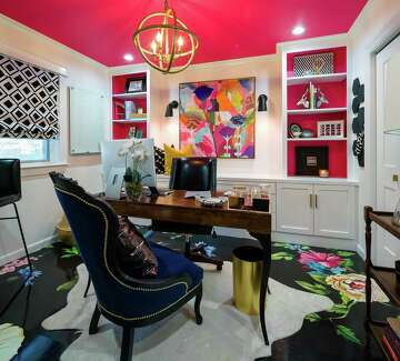 Home Office Is Interior Designer S Bold