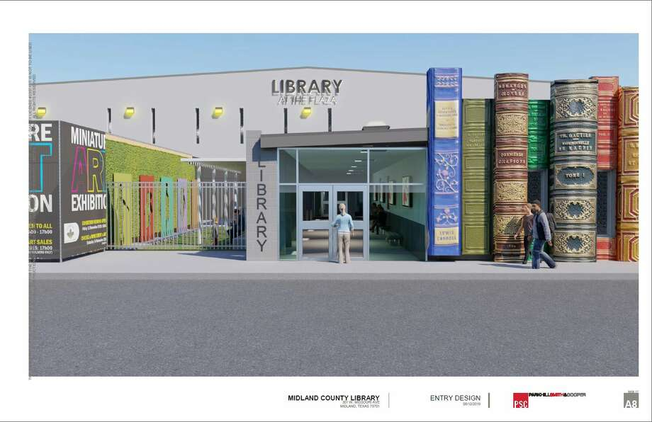Library at the Plaza renderings Photo: Special To The Midland Reporter-Telegram