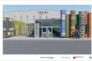 Library at the Plaza renderings