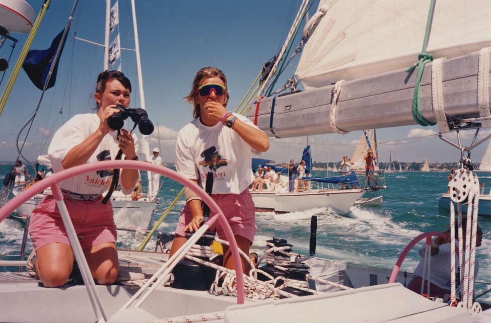Tracy Edwards, left, and Mikaela Von Koskull in
