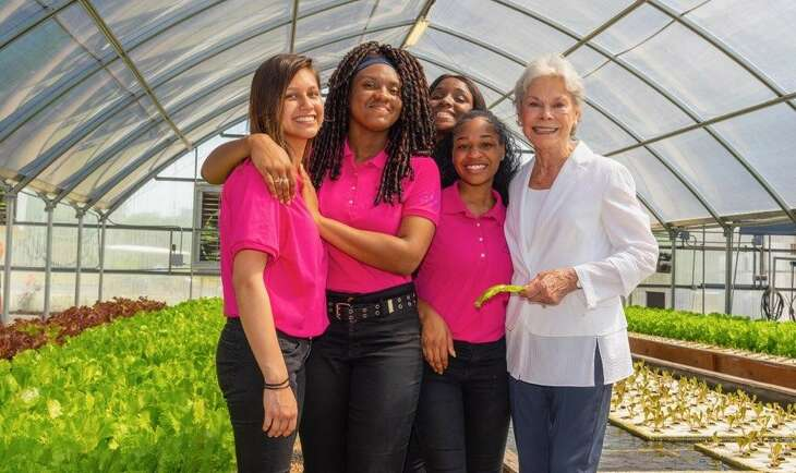 Janice McNair's $5.5 million donation to Pro-Vision Inc will help triple the size of the urban garden in the Sunnyside community.