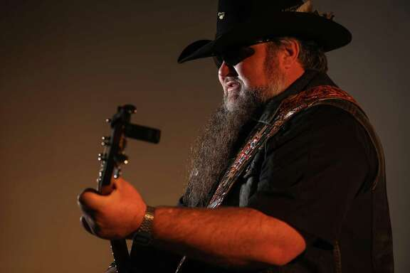 Sundance Head performs in the Houston Chronicle studio, Monday, Feb. 11, 2019, in Houston. Sundance Head is the son of Roy Head, a soul singer from the 60's.