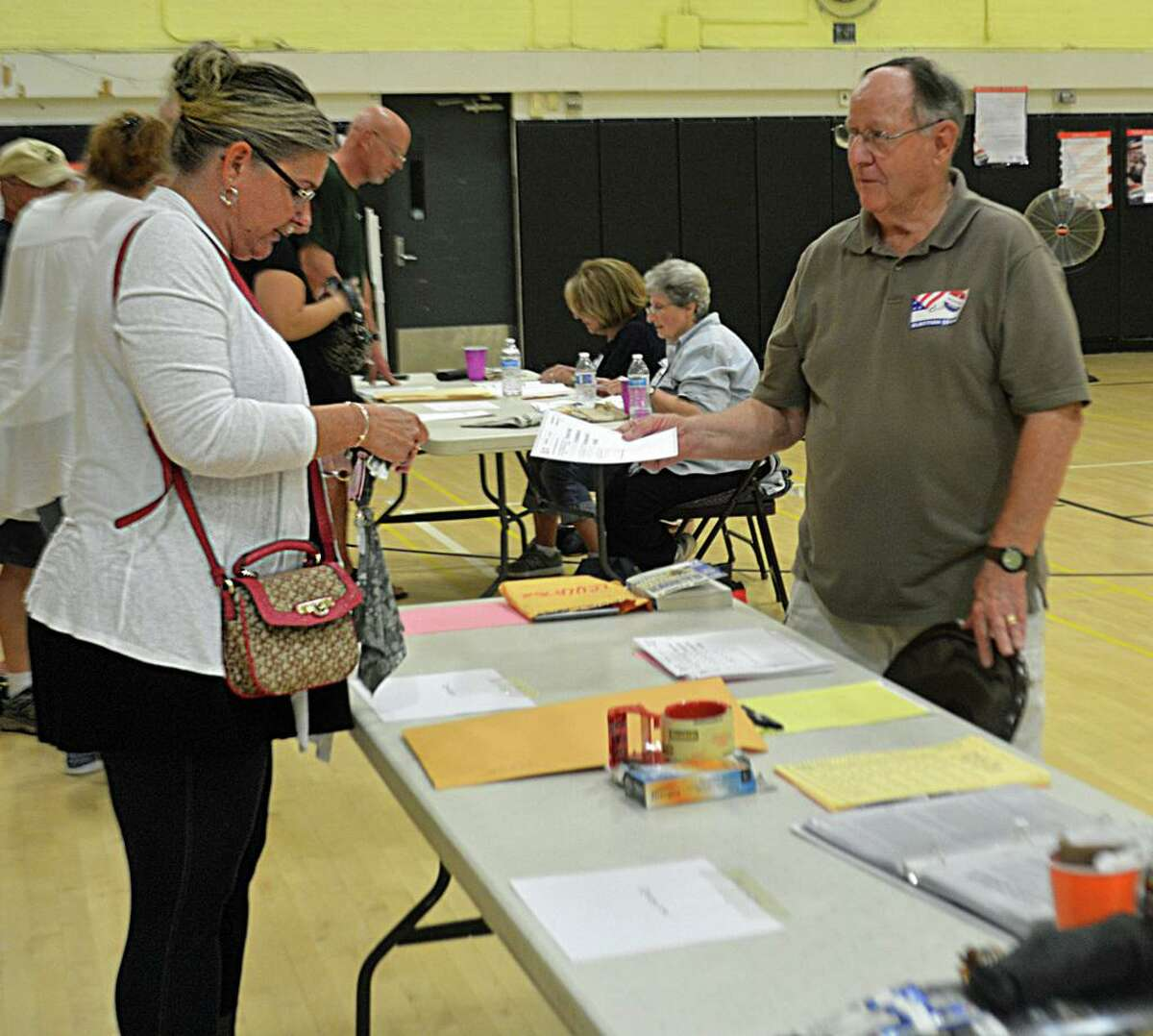 Voters take part in the 2018 primary election in Middletown, choosing their preferred candidates for state offices.