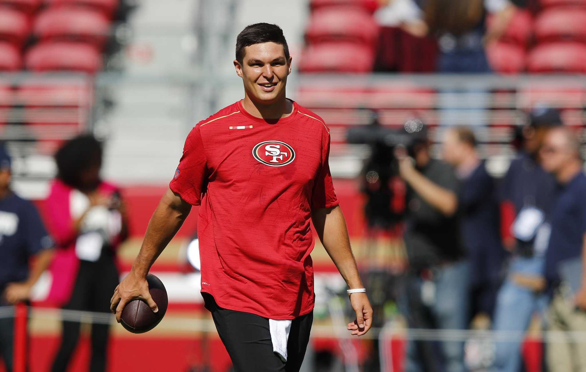 Does 49ers QB Nick Mullens already own 2020's best touchdown celebration?