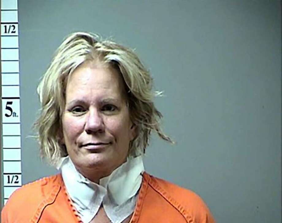 This 2016 photo file booking photo provided by the St. Charles County, Mo., Prosecuting Attorney's Office shows Pamela Hupp. Hupp has been sentenced Monday, Aug. 12, 2019, to life in prison without parole for killing 33-year-old Louis Gumpenberger, a mentally disabled man in what prosecutors say was a complicated plot to divert attention from another homicide. Hupp, 60, of the St. Louis suburb of O'Fallon entered an Alford plea in June on a first-degree murder charge in the 2016 death of Gumpenberger. (St. Charles County, Missouri, Prosecuting Attorney's Office via AP) Photo: AP / St. Charles County, Missouri, Prosecuting Attorney's Office